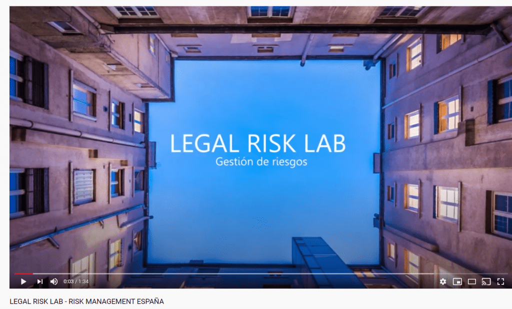 LEGAL RISK LAB YOUTUBE